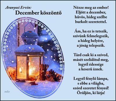 December köszöntő