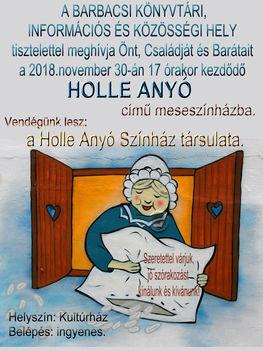 Holle anyó plakát