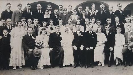 Esküvő 1930-as évek