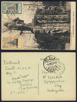 indiai képeslap1928
