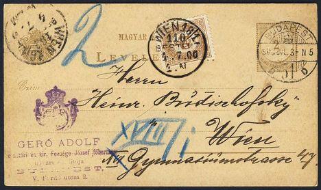 képeslap bécsbe 1900-ból