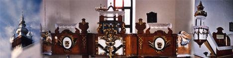 Mezővári Református Templombelső-Kárpátalja-Beregi Egyházmegye