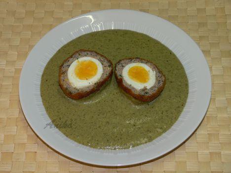 Sóska skót tojással