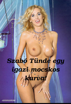 Szabó Tünde kurva