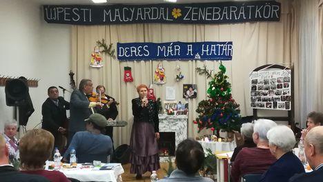 2018. dec. 4. Elő-Karácsony  az idén TÍZ éves Újpesti Zenebarátkörben