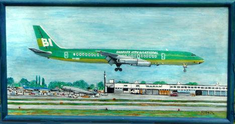 Braniff DC--8-62