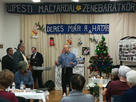 Karácsonyi előzetes az Újpesti Magyardal Zenebarátkörben 2018. Dec. 4.