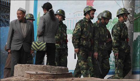 Kashgar katonák