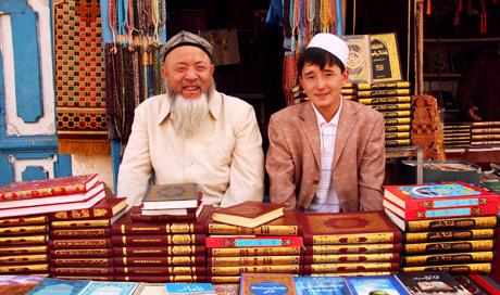 kashgar korán árusok