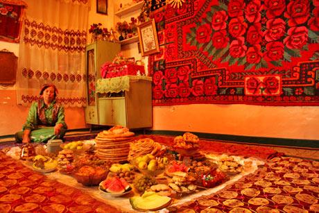 kashgar otthoni vendéglátás