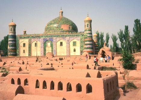 kashgar óváros