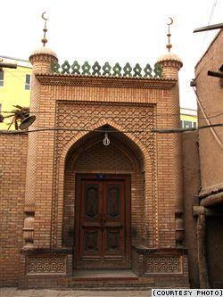 kashgar óvárosi kapu