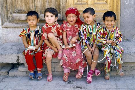 kashgari gyerekek