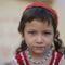 Kashgari kékszemű kislány