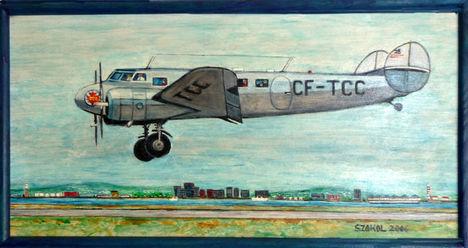 Trans Canada Lockheed 14 Electra
