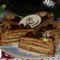 Zserbó torta szeletek