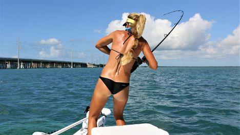Tengeri horgászat Florida Marissa Everhart