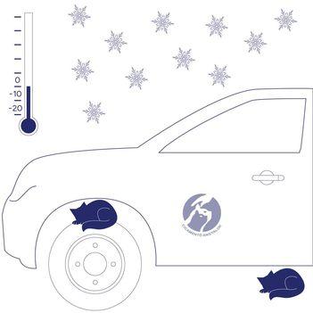 Figyelj! Itt a hideg, a szabadban álló autó kerekeinél, motorterében melegedni vágyó állatok bújhatnak el
