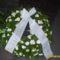 Görögkoszorú 75 vegyes fehér virágból