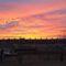 Napnyugta Moson belvárosa felett, Mosonmagyaróvár 2019. január 16.- án 1