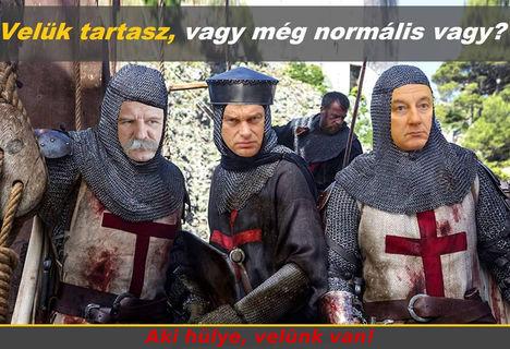Orbán Viktor keresztes