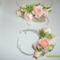 Virágékszer - nyakék és karkötő