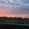 Keréktó-Szabadidőközpont. Januári naplemente.
