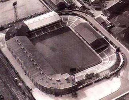 Old Trafford nagyapáink idején
