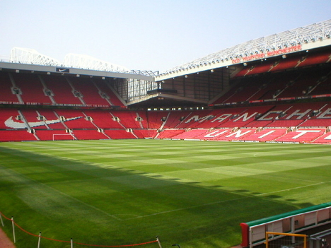 Old Trafford napjainkban