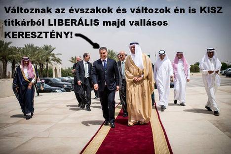 Orbán Viktor arabokkal