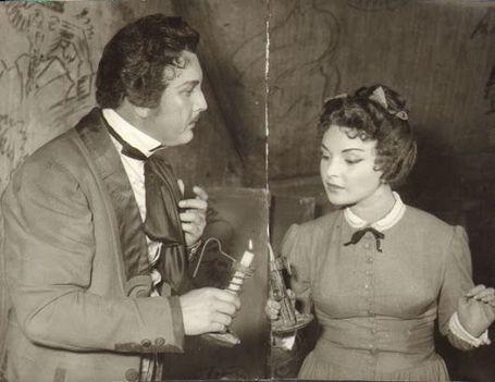 Puccini - Bohémélet Ilosfalvy Róbert és Házy Erzsébet