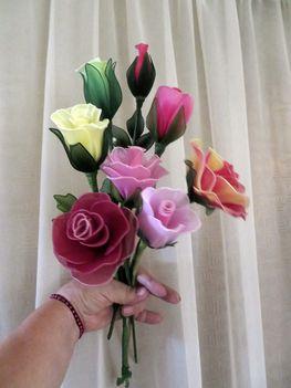 rózsa csokor..