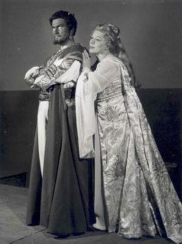 Simándy József Osváth Júlia - Otello 1960