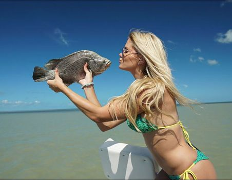 Tengeri horgászat Marissa Everhart