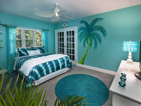 Beach-Themed-Bedroom-Paint-Colors-Modern-Bedroom
