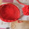 piros szütyő