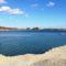 A Kavicsbánya-tó, Darnózseli 2019. március 12.-én 2
