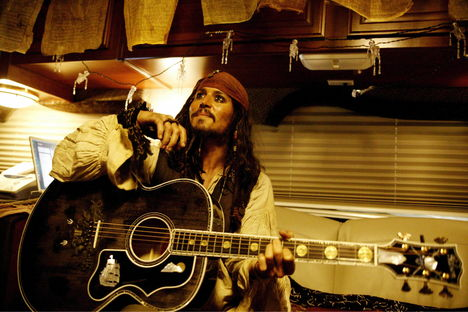Pirates of the Caribbean behind the scenes 1