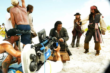 Pirates of the Caribbean behind the scenes 4