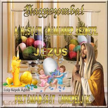 Húsvét szombat