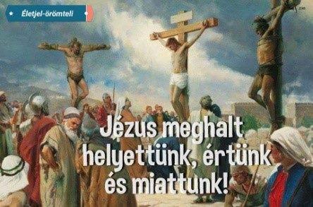 Jézus meghalt