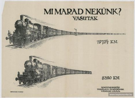 Mi marad nekünk - 19.754 km vasútból 8.320 km