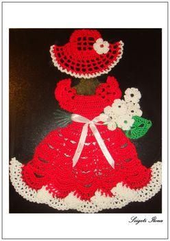 Mini Lady  - pirosban