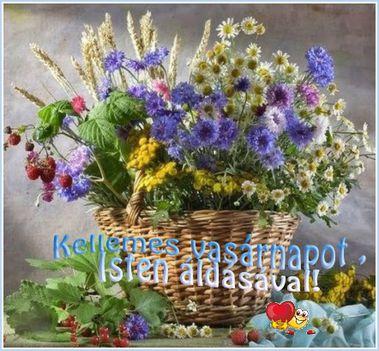 Kellemes vasárnapot ,Isten áldásával