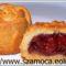 meggyes pite muffinformában