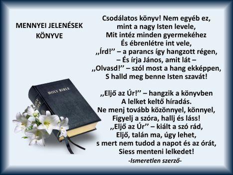 Mennyei Jelenések könyve