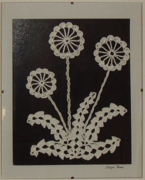 Pitypang - falikép