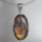LABRADORIT ovál ezüst medál