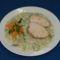 Karalábé főzelék pulyka sülttel