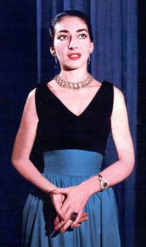 Az átalakult Maria Callas